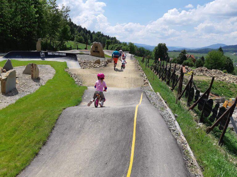 Bike Park - rowerzyści